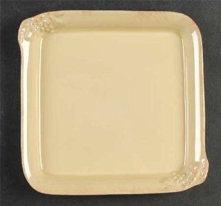 Casafina Madeira Harvest (Dijon Gold) Square Tray, Fine China Dinnerware: Kitchen & Dining