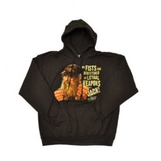 Duck Dynasty Si Lethal Weapon OR Phil Happy Hoodie Hooded Sweatshirt Adult M 2XL (X Large, Grey Happy Happy Happy): Clothing
