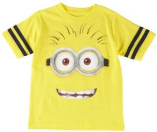 Despicable Me 4 7 Minion Face T Shirt 7 Yellow: Clothing