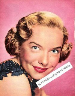 Pretty Classic Actress Diana Lynn 1951 Color Picture: Everything Else