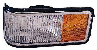 Depo 332 1563L US Cadillac Fleetwood/DeVille Driver Side Replacement Corner/Side Marker Light Unit Automotive