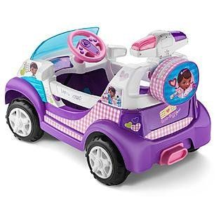 Disney by KidTrax Doc McStuffins Ambulance: Toys & Games