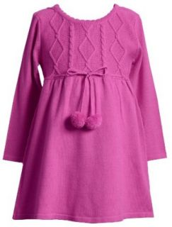 Bonnie Jean Girls 2 6x Fuschia Sweater Dress,Fuschia,4 Bonnie Jean Clothing