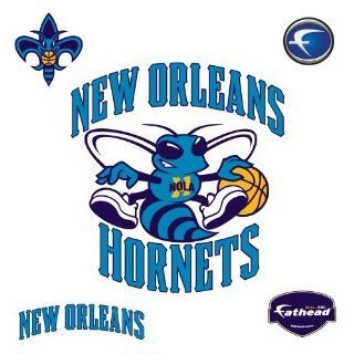 New Orleans Hornets Logo Wall Decal: Sports & Outdoors