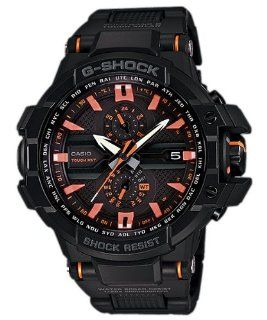Casio Mens G Shock Sky Cockpit Series GW A1000FC 1A4DR Triple G Resistant Tough Solar Power Multi Band 6 Atomic Timekeeping: Watches