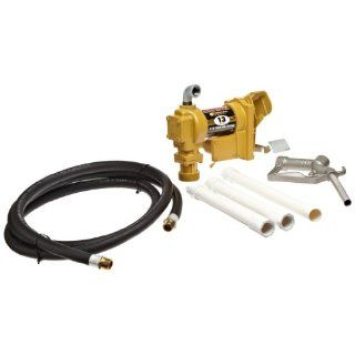 Fill Rite Fuel SD602 Fluid Transfer Pump, Adjustable Suction Pipe, 10' Delivery Hose, Manual Release Nozzle   115 Volt, 13 GPM: Industrial & Scientific