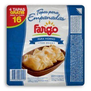 Fargo Tapas de Empanadas para Horno (15.98 oz/453 g) : Prepared Pastry Shells : Grocery & Gourmet Food