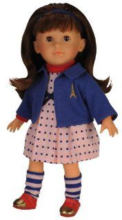 Corolle Mademoiselle Coquette Brunette Fashion Doll Toys & Games
