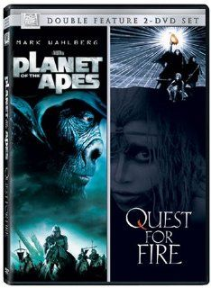 Planet of the Apes / Quest for Fire: Mark Wahlberg, Helena Bonham Carter, Everett McGill, Ron Perlman, Nicholas Kadi, Rae Dawn Chong, Tim Roth, Michael Clarke Duncan, Paul Giamatti, Estella Warren, Cary Hiroyuki Tagawa, David Warner, Jean Jacques Annaud, T