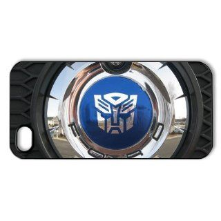 CoverMonster Transformer's Autobots logo Iphone 5 5S case, Autobots logo on rubber lyre Iphone 5 5S case: Cell Phones & Accessories