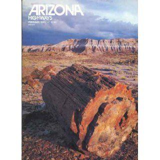 Arizona Highways Magazine, February 1983 (Allan Houser, Dan Namingha, Petrified Forest) Gary Avey Books