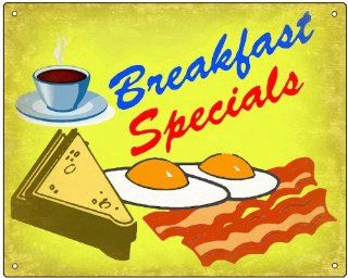 50's breakfast Restaurant sign deli diner retro vintage 383: Everything Else
