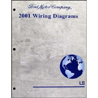 2001 Lincoln LS Wiring Diagram Manual Original: Lincoln: Books