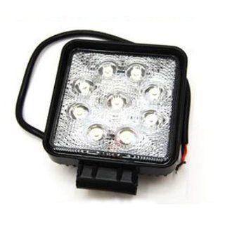 Eyourlife 27W DC 10V 30V LED Spot 1800LM Work LAMP Off Road Spotlight 4X4  Jeep Cabin/Boat/SUV/Truck/Car/ATVs Fishing Deck Driving Light Waterproof Automotive