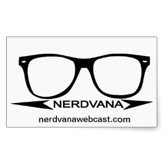 Nerdvana Swag Stickers
