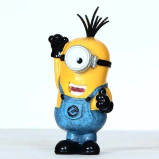 4'' Despicable Me 3d Minion Interactive Collectors Edition Styles Display Cosplay Toy 0692: Toys & Games