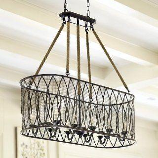 denley 6 light pendant chandelier ballard designs ceiling pendant. Black Bedroom Furniture Sets. Home Design Ideas