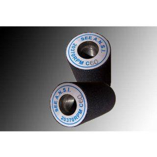 "1.5x3"" in. Diamondhead USA Black Silicon Carbide Grinding Stone (24 GRIT)"