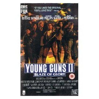Young Guns II [VHS]: Emilio Estevez, Kiefer Sutherland, Lou Diamond Phillips, Christian Slater, William Petersen, Alan Ruck, R.D. Call, James Coburn, Balthazar Getty, Jack Kehoe, Robert Knepper, Tom Kurlander, Geoff Murphy, David Nicksay, Dixie J. Capp, Ga