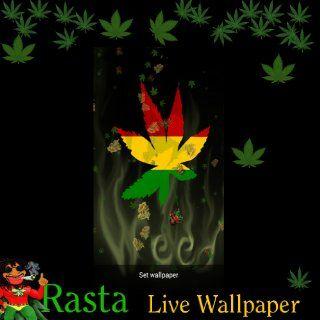 Live Wallpaper   Rasta Marijuana Falling Pot Leaves Happy 420: Appstore for Android