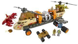 Matchbox Mega Rig Jurassic Copter Building System Toys & Games