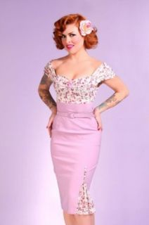 Bettie Page Clothing VIOLET Dress  XLarge Clothing