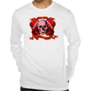 Valentine Tattoo Skull Hearts Tee Shirts