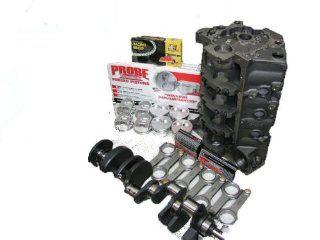 Dart SBC 427 4340 Forged Short Block Kit with Splayed Four Bolt Main Caps   Unassembled Automotive