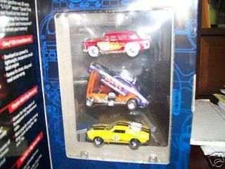 Hot Wheels V8s 3 Car Set TARGET EXCLUSIVE Chevy 302 Nomad, Chrysler 426 Funny Car, Ford 427 Race Car: Toys & Games