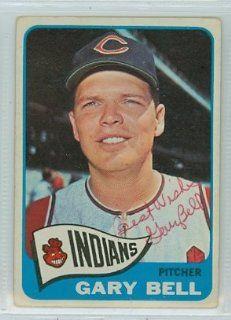 Gary Bell AUTO 1965 Topps #424 Indians PSA Pre Cert Set Break: Sports Collectibles
