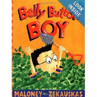 Belly Button Boy (Picture Puffin Books): Peter Maloney, Felicia Zekauskas: 9780142500170: Books