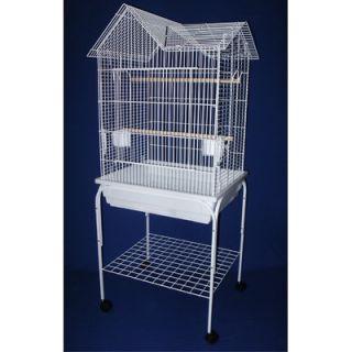 YML Villa Top Small Parrot Bird Cage