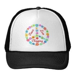 Peace Love Clogging Hats