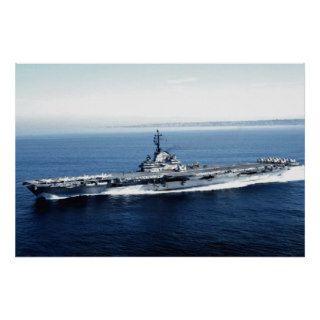 CV 67 USS John Kennedy Posters