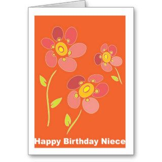Happy Birthday Niece Cards