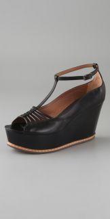 Derek Lam T Strap Platform Sandals