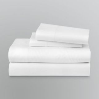 Jaclyn Smith 300 Thread Count Wrinkle Free Sheet Set   Bed & Bath   Bedding Essentials   Sheets