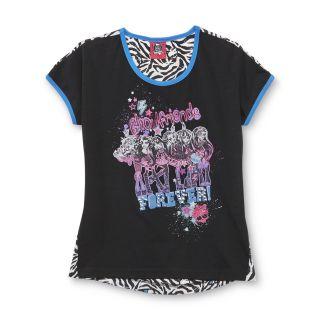 Monster High Girls T Shirt   Clawdeen Wolf   Clothing   Girls   Character Apparel