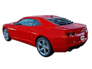 Mach Speed 21010 Chevrolet Chevy Camaro Coupe ABS Rear Window Louver   2010 2012