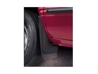 Original Style Mud Guards Chevrolet Suburban 2007 2013 Black Z 71 with OEM Fender Flares , Rear Set