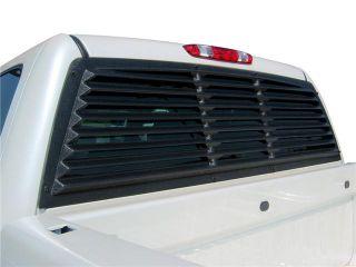 Mach Speed 31001 Chevrolet Silverado   GMC Sierra 1500 ABS Rear Window Louver   2007 2012