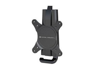Level Mount DC37LP Matte Black Powder Coat Finish Fixed Flat Panel Wall Mount  TV Bracket