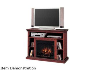 """ClassicFlame Beverly Collection 48"""" Wide Media Mantel Electric Fireplace (Premium Cherry) 23MM374 C202"""