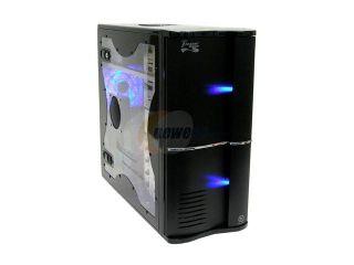Thermaltake Tsunami VA3400BWA Black  Mirror Coating Aluminum ATX Mid Tower Computer Case 400W Power Supply