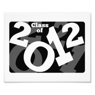Playful Numbers, Class of 2012 Graduation Design Art Photo