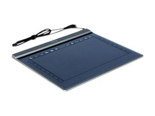 """ADESSO CT Z12A 10"""" x 6"""" Widescreen Ultra Slim Graphics Tablet with Adobe Photoshop Elements 5.0"""