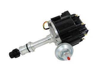 TSP HEI DISTRIBUTOR   OLDSMOBILE V8 ENGINES, 50K V COIL, BLACK CAP JM6503BK