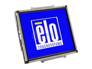 "ELO TOUCHSYSTEMS 1537L(E431187) Black 15"" Dual serial/USB IntelliTouch LCD Open Frame IntelliTouch Touchscreen Monitor 230 cd/m2 500:1"