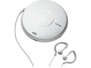 Sony DFJ041 Walkman Portable All in one Skip Free CD Player   Digital AM / FM Radio Tuner with Clip Style Earbud Headphones