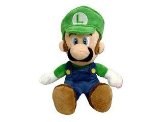 """Nintendo Super Mario Bros. Wii Plush Luigi 8"""""""